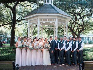 Cayla and David's Wedding in Savannah, Georgia 17
