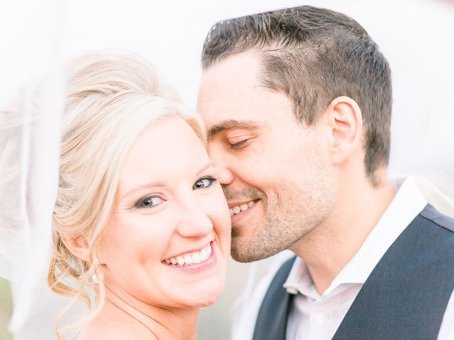 The wedding of Jordanne and Stephen
