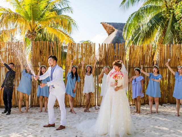 Jess and Pay's Wedding in Isla Mujeres, Mexico 1