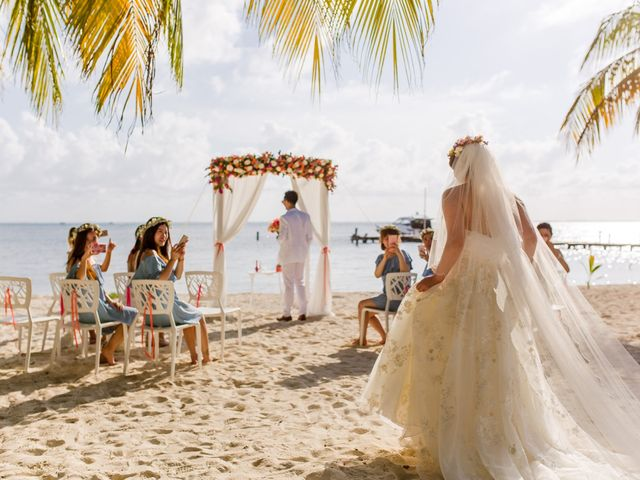 Jess and Pay's Wedding in Isla Mujeres, Mexico 5