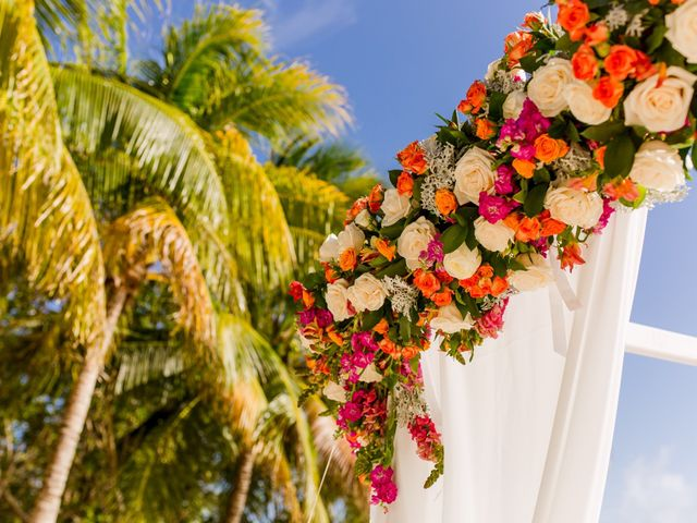 Jess and Pay's Wedding in Isla Mujeres, Mexico 6