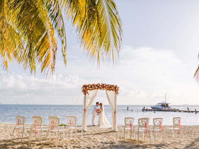 Jess and Pay's Wedding in Isla Mujeres, Mexico 7