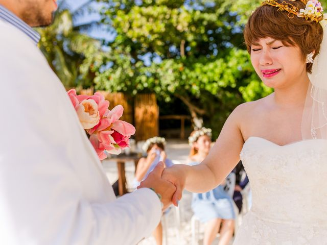 Jess and Pay's Wedding in Isla Mujeres, Mexico 14