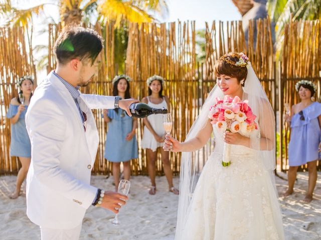 Jess and Pay's Wedding in Isla Mujeres, Mexico 17