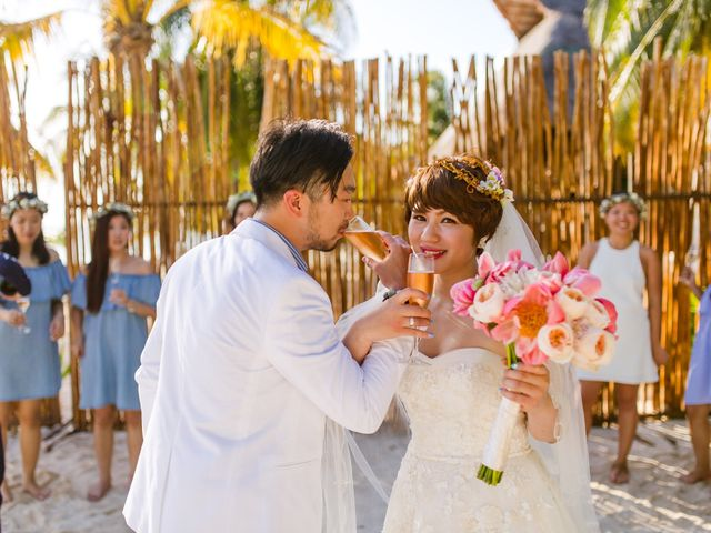 Jess and Pay's Wedding in Isla Mujeres, Mexico 19