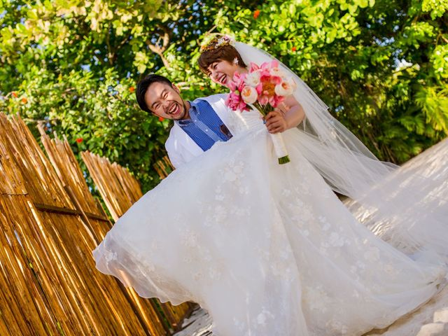 Jess and Pay's Wedding in Isla Mujeres, Mexico 21