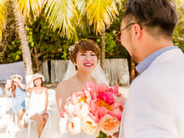 Jess and Pay's Wedding in Isla Mujeres, Mexico 29