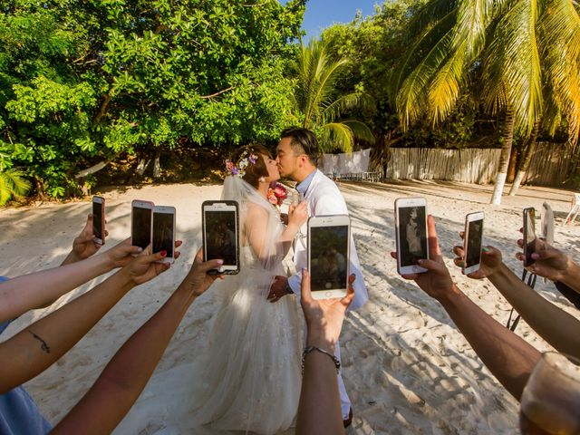 Jess and Pay's Wedding in Isla Mujeres, Mexico 30