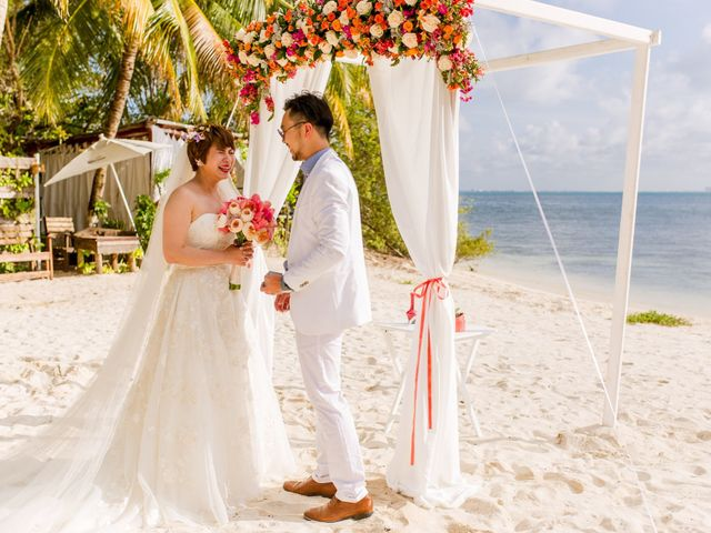 Jess and Pay's Wedding in Isla Mujeres, Mexico 31