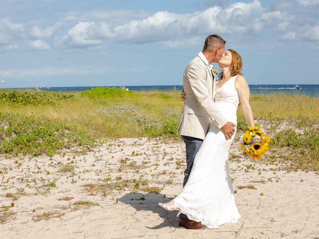 Dale and Courtney's Wedding in Fort Lauderdale, Florida 19