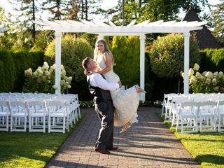 The wedding of Derek and Hailey