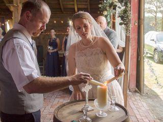 The wedding of Lauren and Durrand 2