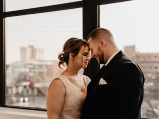 The wedding of Steven and Stephanie