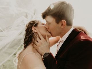 The wedding of Maria and Keaton