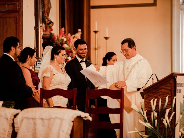 Marlene and Vijay's Wedding in Belize City, Belize 12