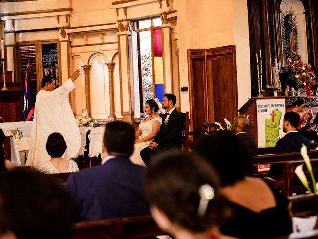 Marlene and Vijay's Wedding in Belize City, Belize 39