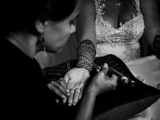 Marlene and Vijay's Wedding in Belize City, Belize 85