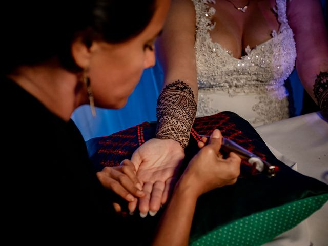Marlene and Vijay's Wedding in Belize City, Belize 86