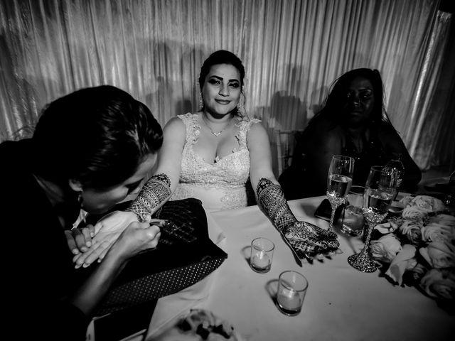 Marlene and Vijay's Wedding in Belize City, Belize 87
