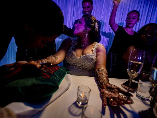 Marlene and Vijay's Wedding in Belize City, Belize 88