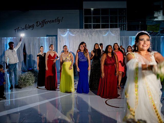 Marlene and Vijay's Wedding in Belize City, Belize 122