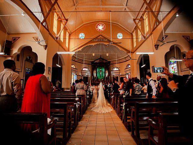 Marlene and Vijay's Wedding in Belize City, Belize 199