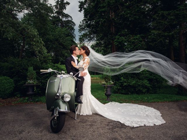 Stefania and Matteo's Wedding in Bronx, New York 8