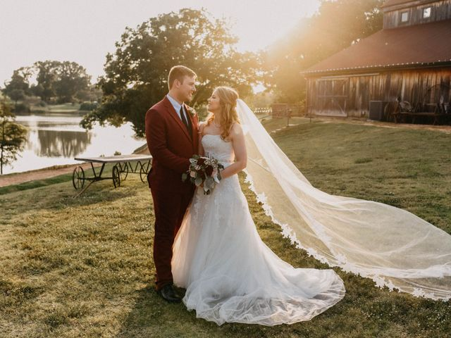 The wedding of Madison and Chris