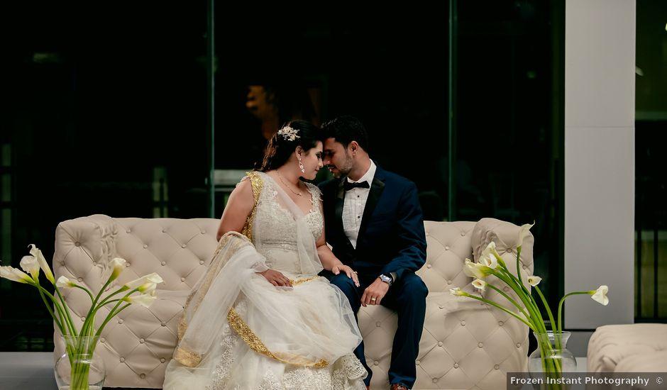 Marlene and Vijay's Wedding in Belize City, Belize