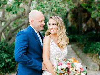 The wedding of Cheryl and Steve