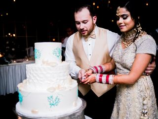 The wedding of Heena and Tyler 1
