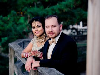 The wedding of Heena and Tyler