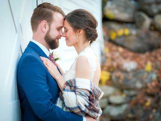 The wedding of Alex and Megan