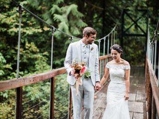 The wedding of Yuki and Joel