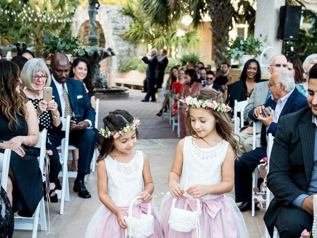 Nazli and Evan's wedding in Texas 13