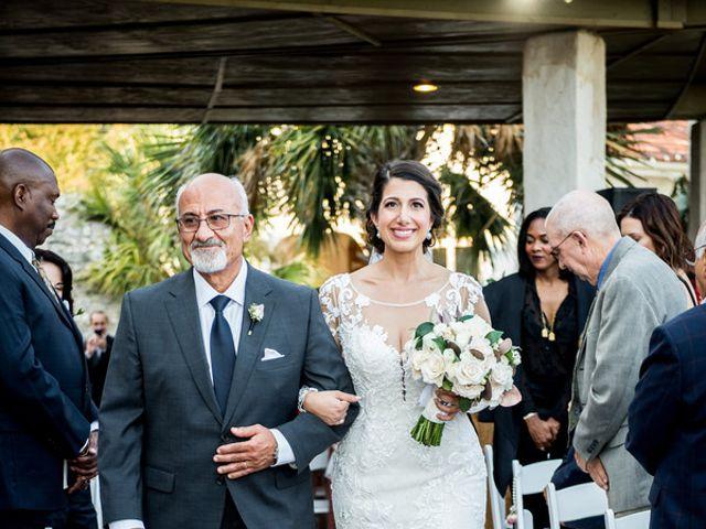 Nazli and Evan's wedding in Texas 14