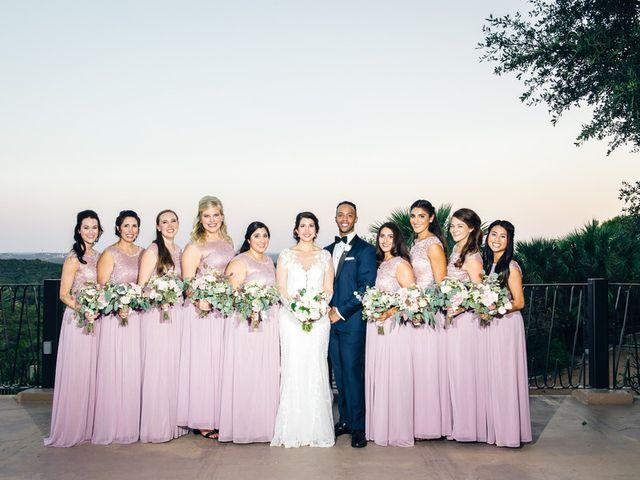 Nazli and Evan's wedding in Texas 18