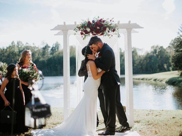 Seth and Kristina's Wedding in Prospect Hill, North Carolina 1