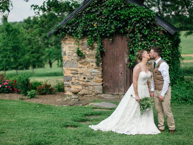 Jake and Erin's Wedding in Frederick, Maryland 6