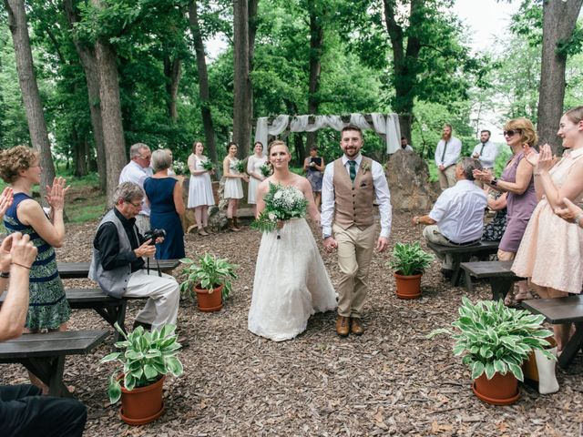 Jake and Erin's Wedding in Frederick, Maryland 7