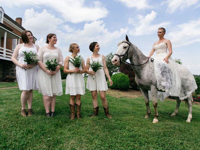 Jake and Erin's Wedding in Frederick, Maryland 9