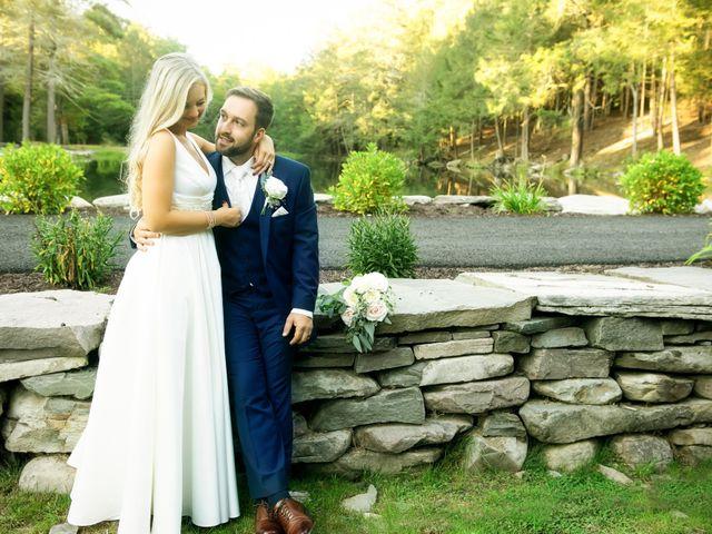 The wedding of Pat and Sarah