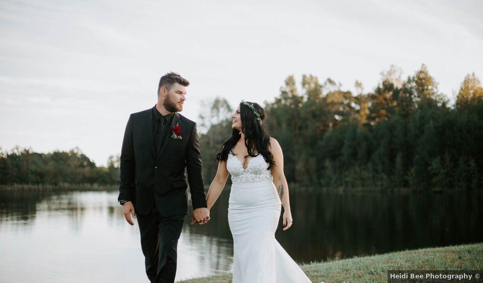 Seth and Kristina's Wedding in Prospect Hill, North Carolina