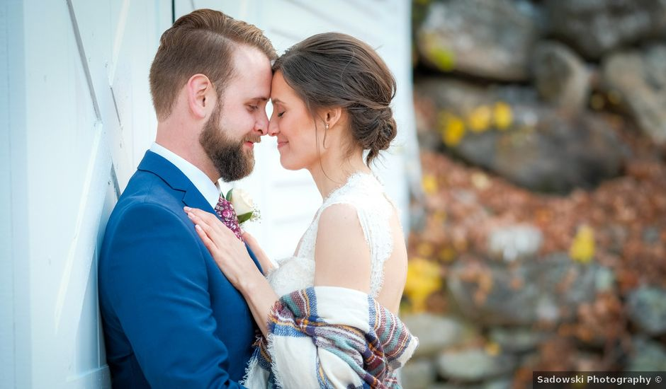 Megan and Alex's Wedding in Andover, New Hampshire