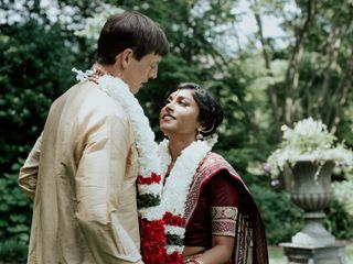 The wedding of Vidiya and Thomas