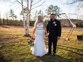The wedding of Bri and Jeff
