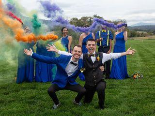 The wedding of Joe and Chass 3