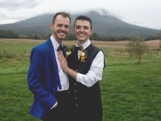 The wedding of Joe and Chass