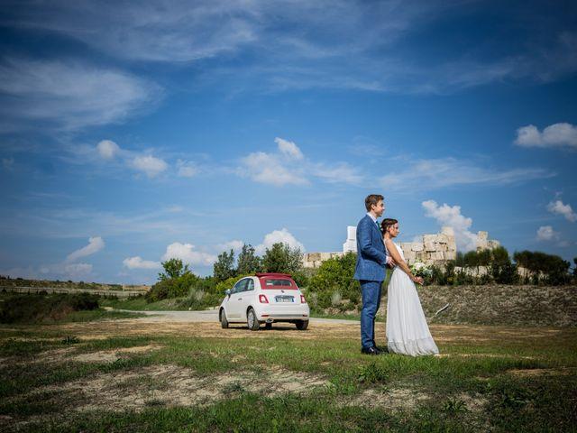 The wedding of Sabrina and Julian