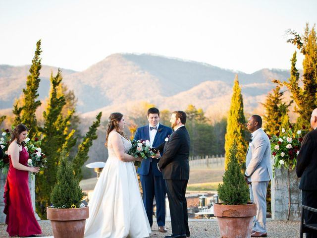 Chris and Christie's Wedding in Travelers Rest, South Carolina 5